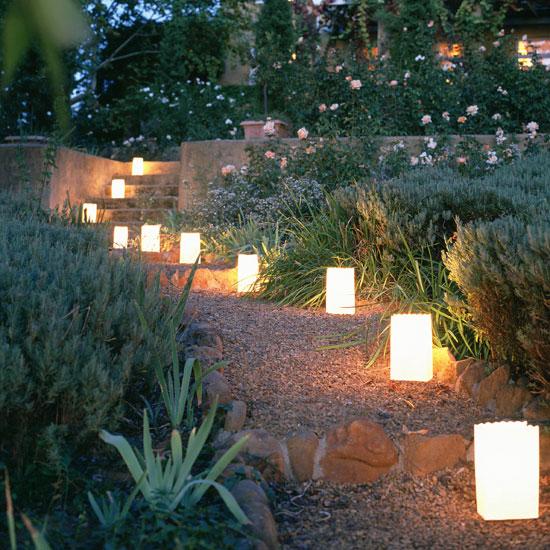 освітлення саду