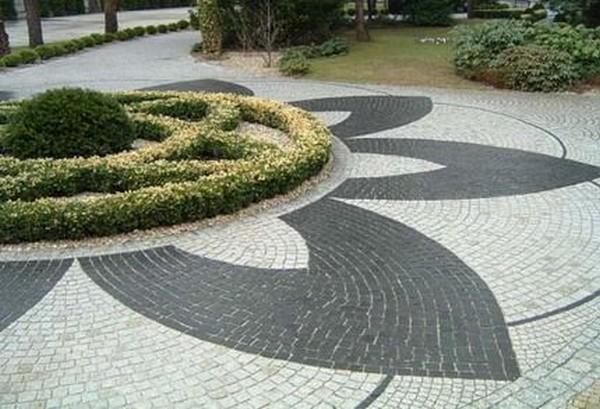 садові доріжки з гравію