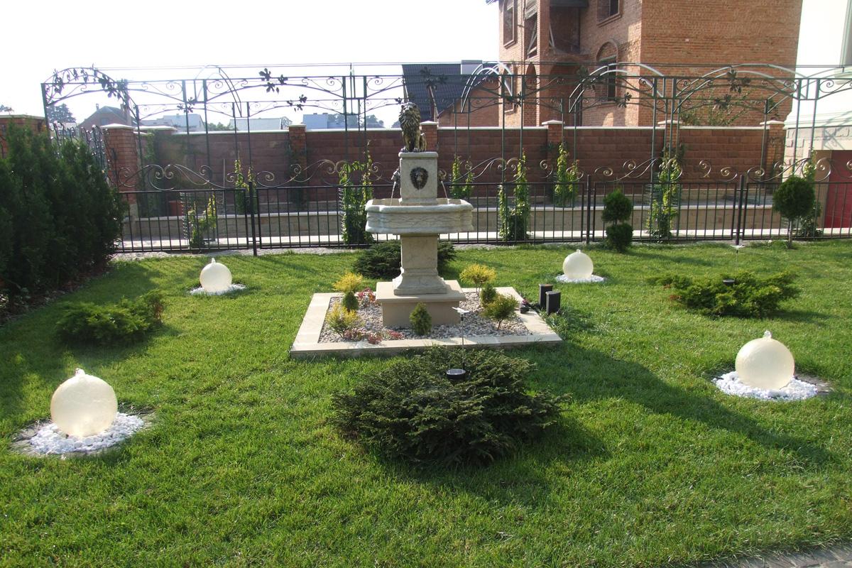 фонтан у ландшафтному дизайні