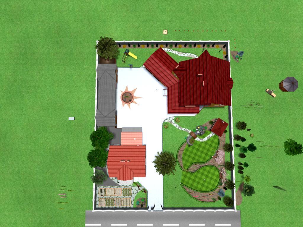 ландшафтне проектування та реалізація 3D